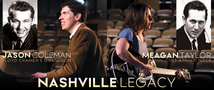 Nashville Legacy: The Music of Floyd Cramer, Chet Atkins and The Nashville Sound